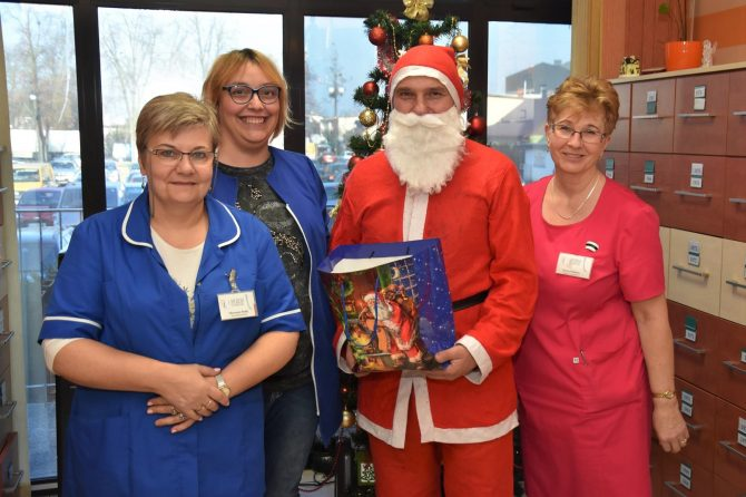 Święty Mikołaj odwiedził naszą przychodnię